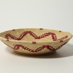 No. 177. Basket, local name canilstredda. Woven using twisted weave technique with weft of natural palm.